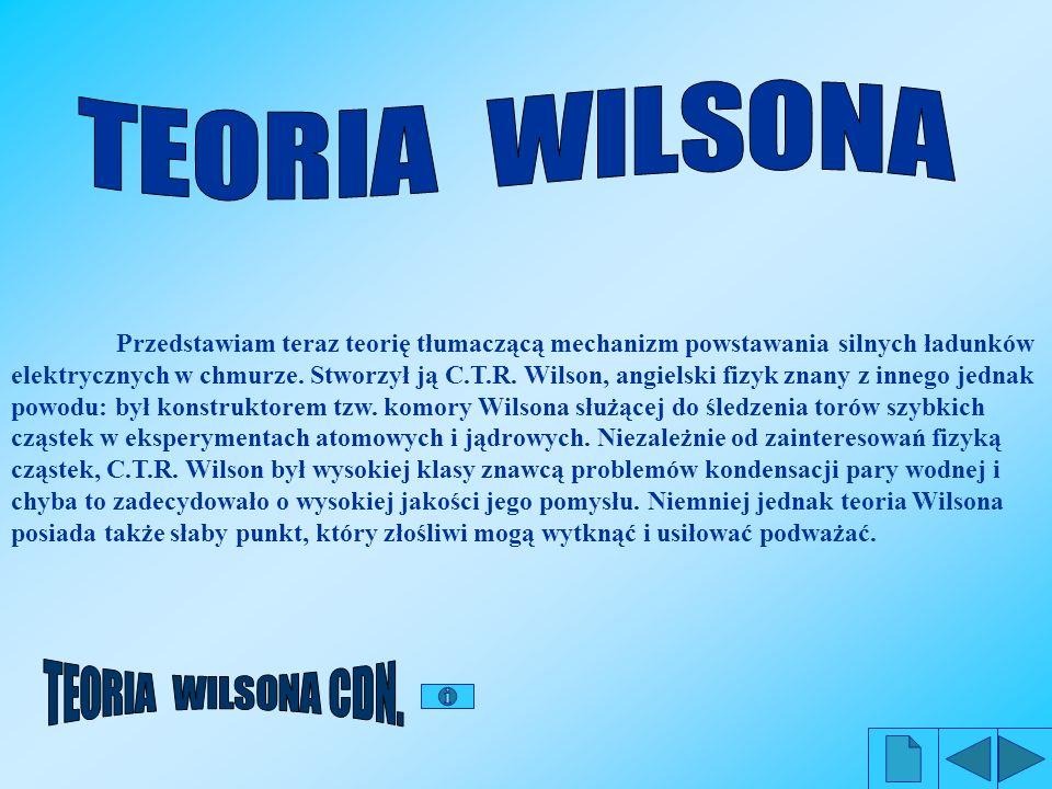 Rozumowanie, które przeprowadził Wilson dotyczyło kropel wody, ale jest słuszne również dla kryształków lodu.