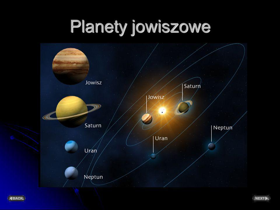Cztery najbliższe Słońca planety: Merkury, Wenus, Ziemia i Mars to planety ziemiopodobne. Mają duży średni ciężar właściwy (od prawie 4 do ponad 5 g/c