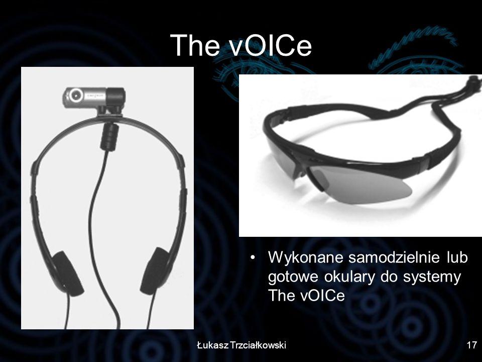 Łukasz Trzciałkowski17 The vOICe Wykonane samodzielnie lub gotowe okulary do systemy The vOICe