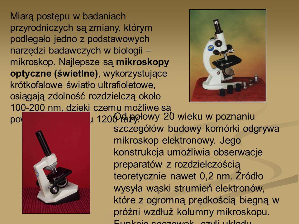 Miarą postępu w badaniach przyrodniczych są zmiany, którym podlegało jedno z podstawowych narzędzi badawczych w biologii – mikroskop. Najlepsze są mik