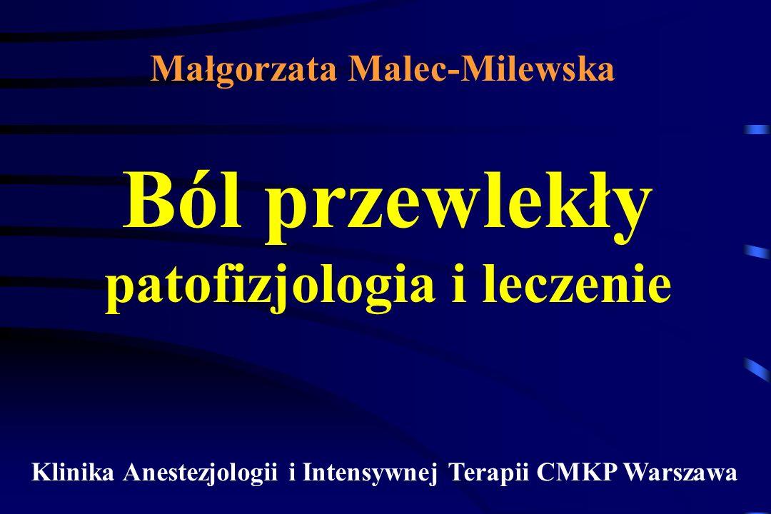 DRG Ośrodkowa sensytyzacja A C SP EAA mGluR NK AMPA NMDA mGluR NK AMPA NMDA ekspresja genów