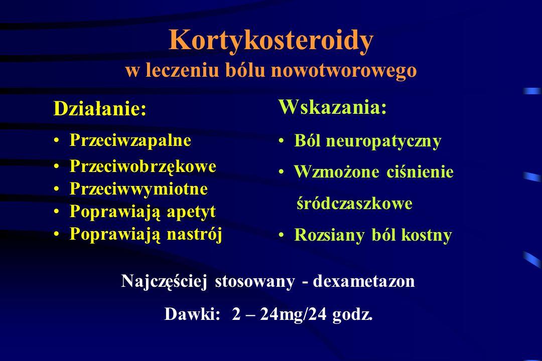 Bisfosfoniany i Kalcytonina w leczeniu bólu nowotworowego Ból kostny (przerzuty do kości) – czynniki chemiczne i mechaniczne Resorpcja osteoklastyczna