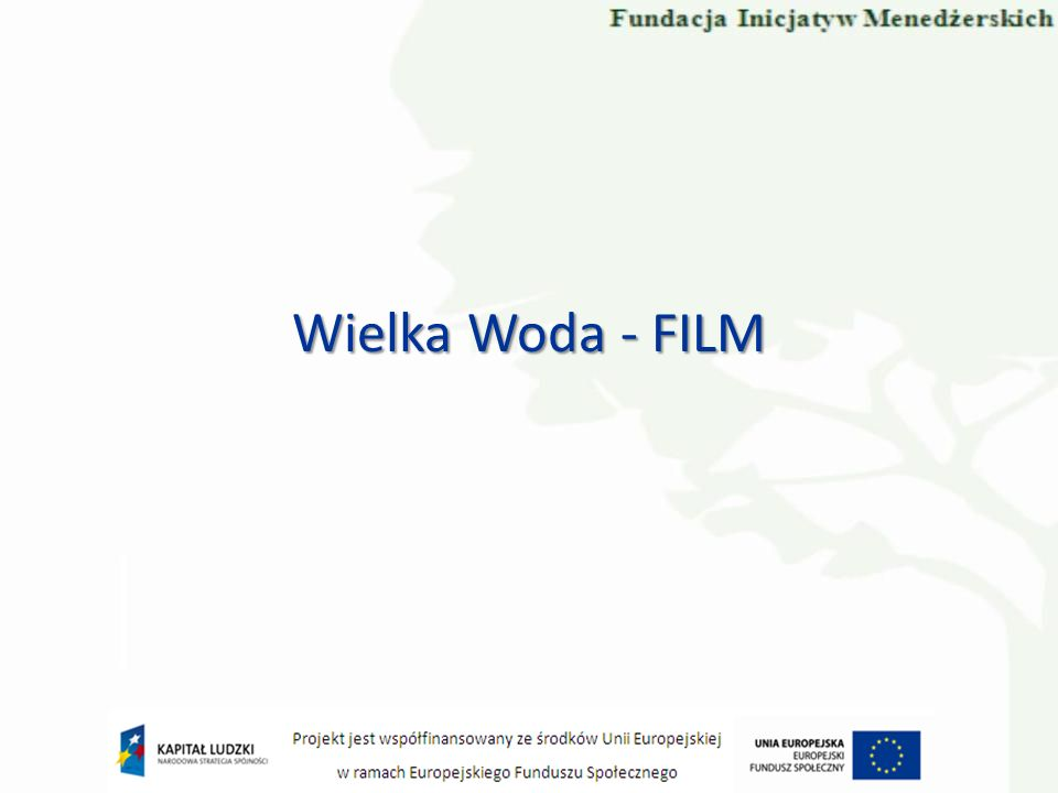 Wielka Woda - FILM