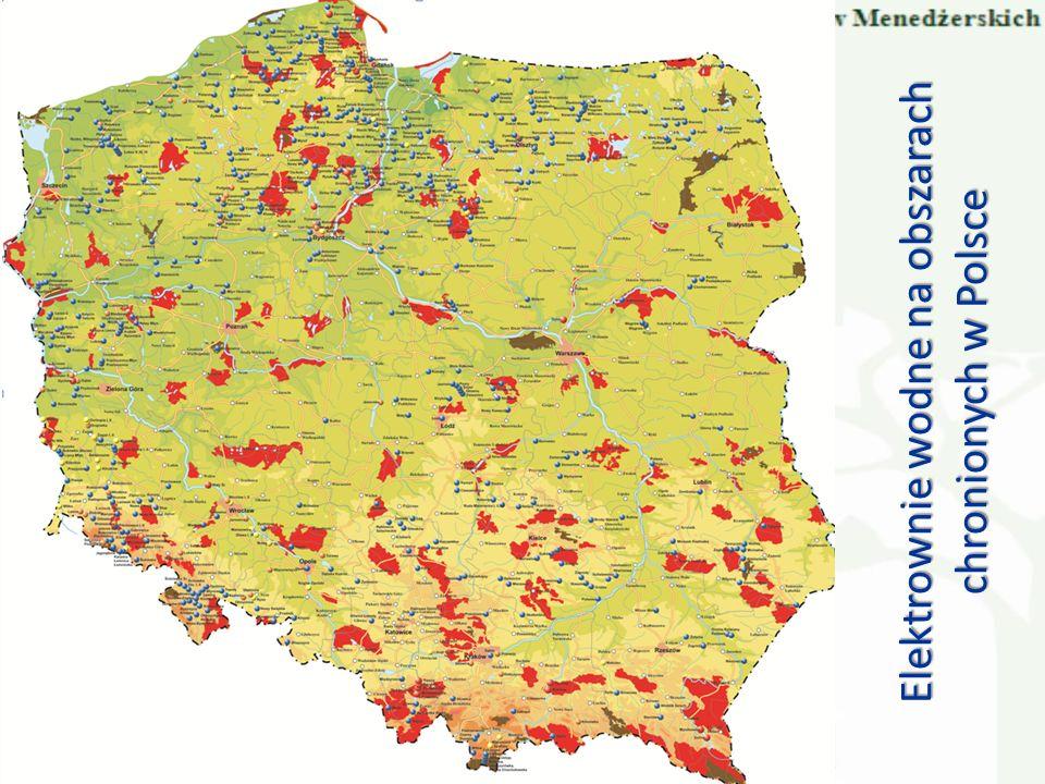 Elektrownie wodne na obszarach chronionych w Polsce