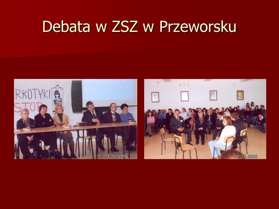Debata w ZSZ w Przeworsku