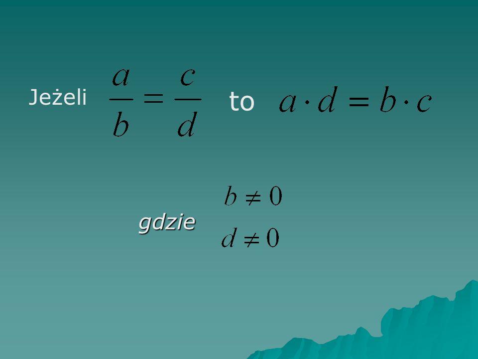 Szukanie proporcji na podstawie tabeli z danymi