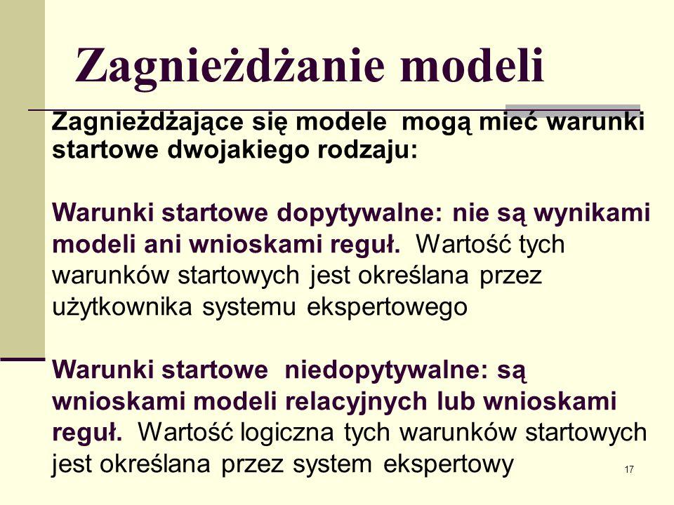 18 Baza rad Klauzule bazy rad: rada(numer_reguły/modelu, nazwa_pliku_rady_dla_reguły/modelu) Każdej regule i każdemu modelowi może być przyporządkowana co najwyżej jedna rada