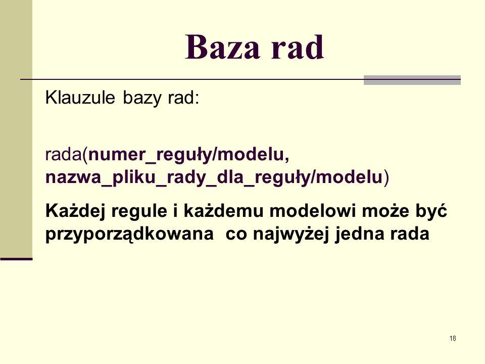 19 Dynamiczna baza danych Dynamiczna baza danych jest bazą relacyjną.