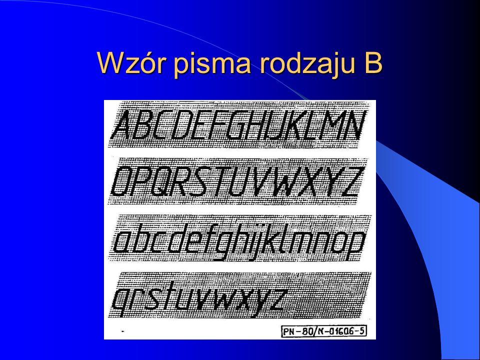 Szerokość liter i cyfr Szerokość Przykłady Bardzo wąskie 1d I i 2d l 3d j ł, 1 Wąskie 4d J c f r t Normalne 5 d C E F L T b d e g h k n o p q s u v x y z 23 5 6 7 8 9 0 6 d B D G H K Ł N O P S U Z a 4 Szerokie 7 d A M Q V X Y m n Bardzo szerokie 9 d W