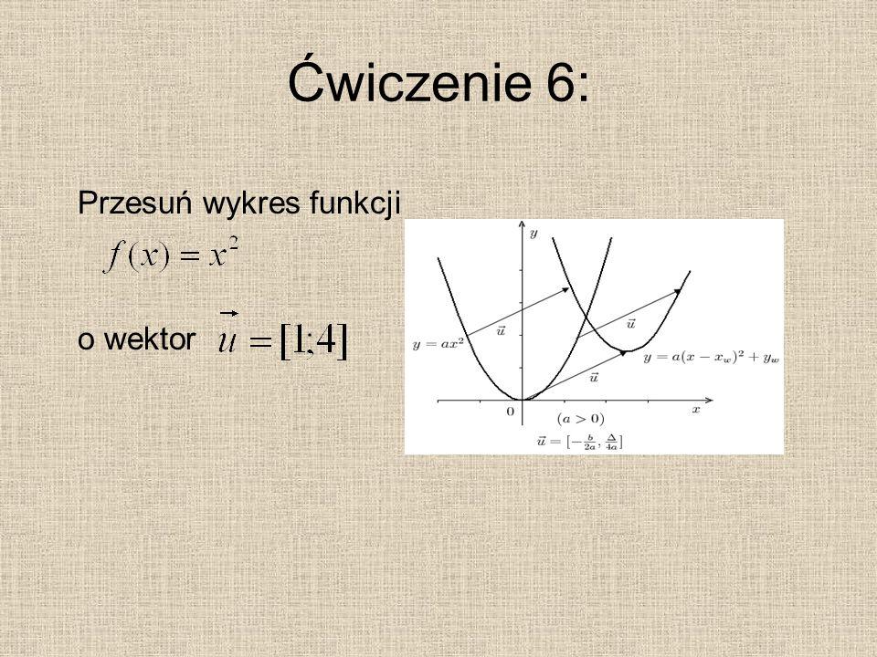 Ćwiczenie 7: Rozwiąż równanie: a. b. c. Odpowiedzi: a. b. c.