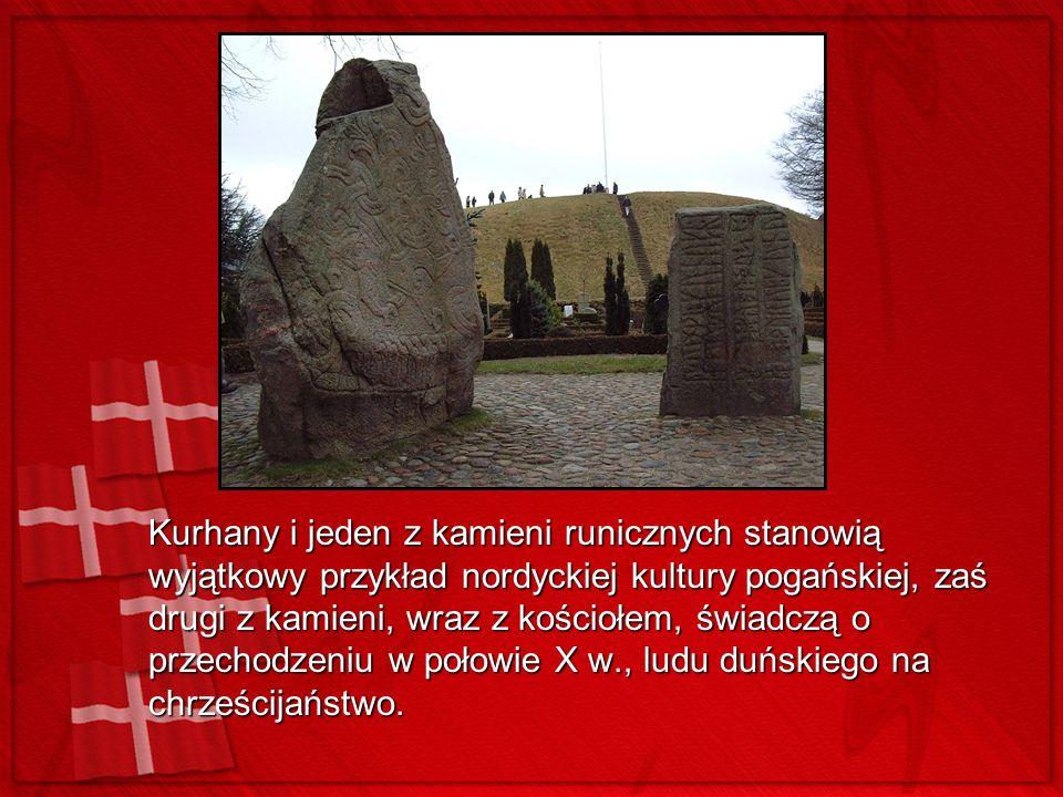 Kurhany i jeden z kamieni runicznych stanowią wyjątkowy przykład nordyckiej kultury pogańskiej, zaś drugi z kamieni, wraz z kościołem, świadczą o prze