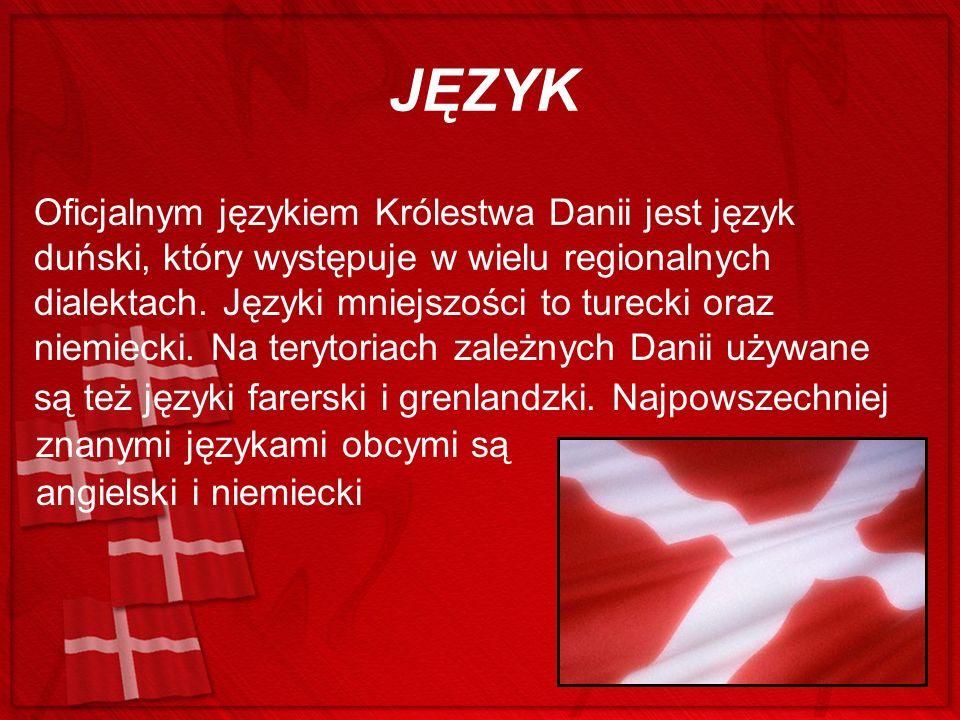 HYMN W Danii oficjalnie przyjęte są dwa hymny państwowe: hymn królewski Kong Kristian (Król Kristian) hymn narodowy Der er et yndigt land (Jest taki piękny kraj).