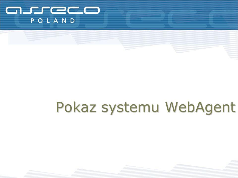 Pokaz systemu WebAgent