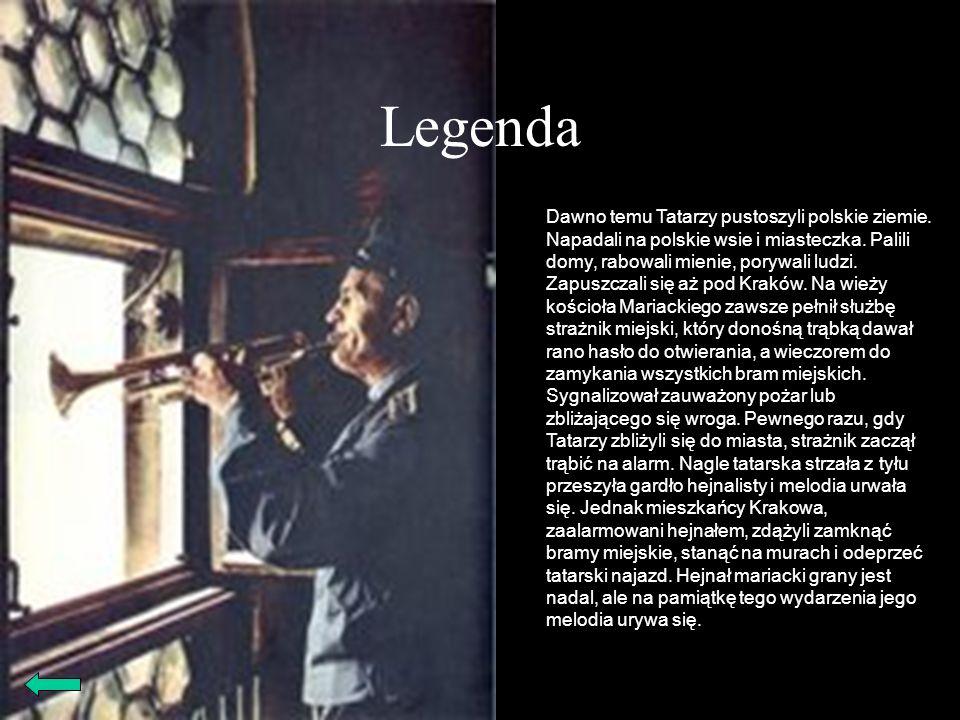 Legenda Dawno temu Tatarzy pustoszyli polskie ziemie. Napadali na polskie wsie i miasteczka. Palili domy, rabowali mienie, porywali ludzi. Zapuszczali