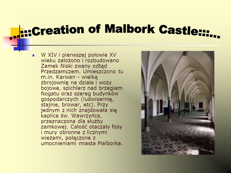 14 września 1309 roku wielki mistrz Zakonu Siegfried von Feuchtwangen przeniósł do Malborka swój urząd.