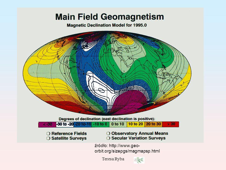 Teresa Ryba źródło: http://www.geo- orbit.org/sizepgs/magmapsp.html