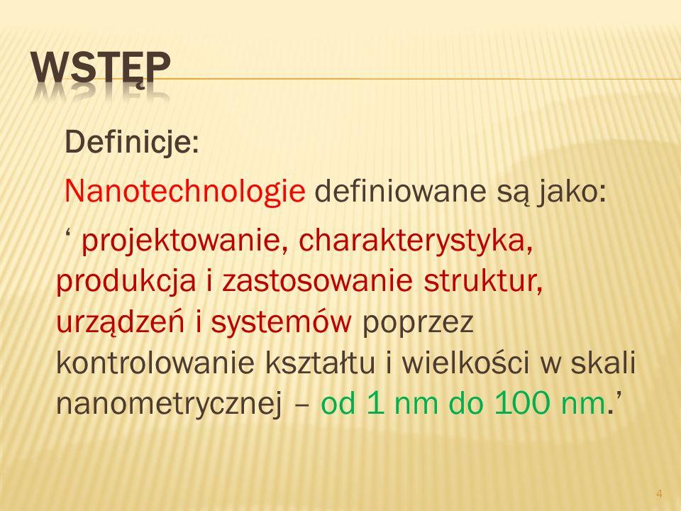 Produkty konsumpcyjne: - zawierające wolne nanocząstki - zawierające nanocząstki związane Produkty z wolnymi nanocząstkami (tlenki cynku, tytanu, żelaza): - kosmetyki, kosmetyki barwne - preparaty do skóry - preparaty do włosów 55