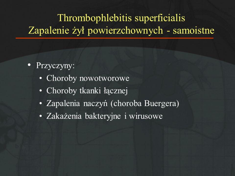 Żylna choroba zakrzepowo-zatorowa (ŻChZZ) – Epidemiologia Zapadalność ~ 0,5-2/1000 osób/rok Śmiertelność 30 dni: ~ 4% (ZZG- 2%; ZP – 7%) 1 rok:~ 13% (ZZG 11%; ZP – 15%) Nawrót:~ 23% (5 lat) ~ 40% (10 lat) Naess IA; J Thromb Haemost 5 (2007) Liem TK; Semin Vasc Surg 21:132-138 (2008)