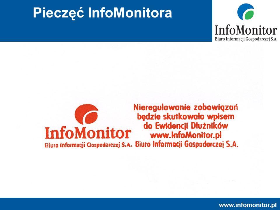 www.infomonitor.pl Pieczęć InfoMonitora