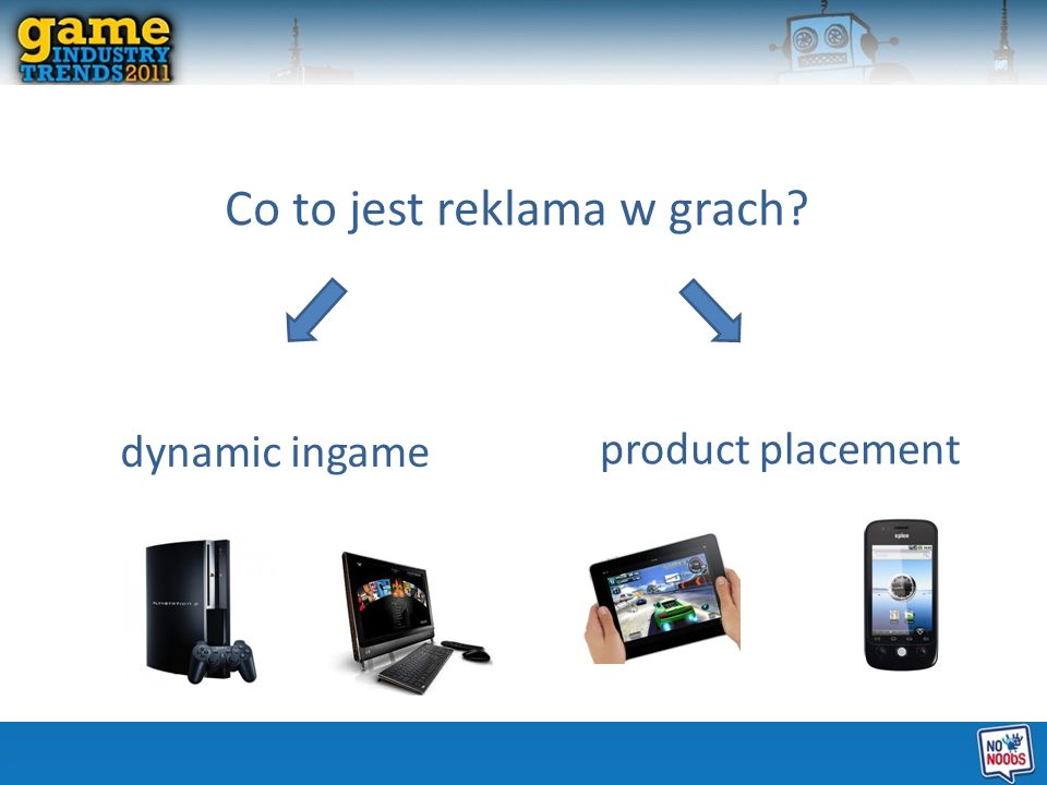 Co to jest reklama w grach? dynamic ingame product placement