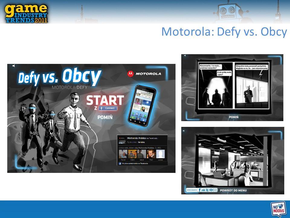 Motorola: Defy vs. Obcy
