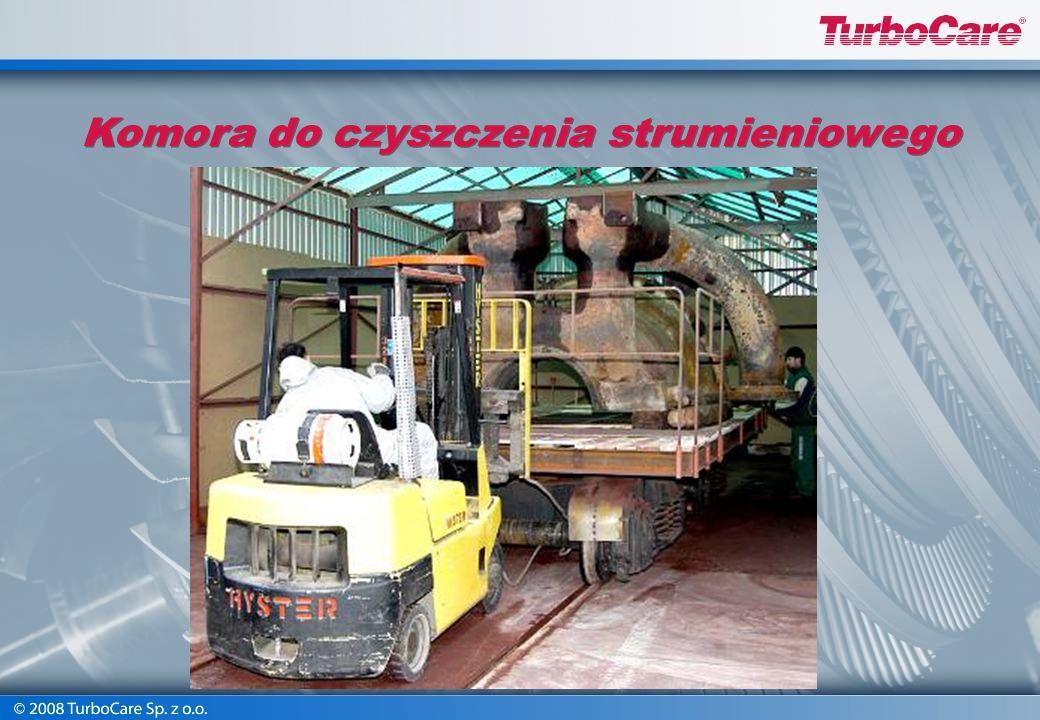 Warsztatowe maszyny specjalistyczne Komorowa czyszczarka strumieniowo-ścierna Schlick Piaskownie przy użyciu ścierniwa pomiedziowego, tlenku aluminium