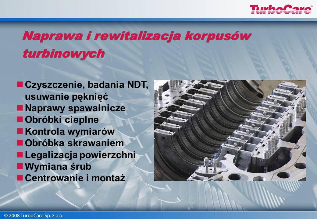Warsztatowe remonty turbin wielkiej mocy Remont kapitalny turbiny Siemens