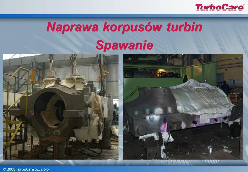 Spełniamy wymagania jakościowe w zakresie spawalnictwa zgodnie z DIN EN 729-2 Naprawa korpusów turbinowych Spawanie Naprawa korpusów turbinowych Spawa
