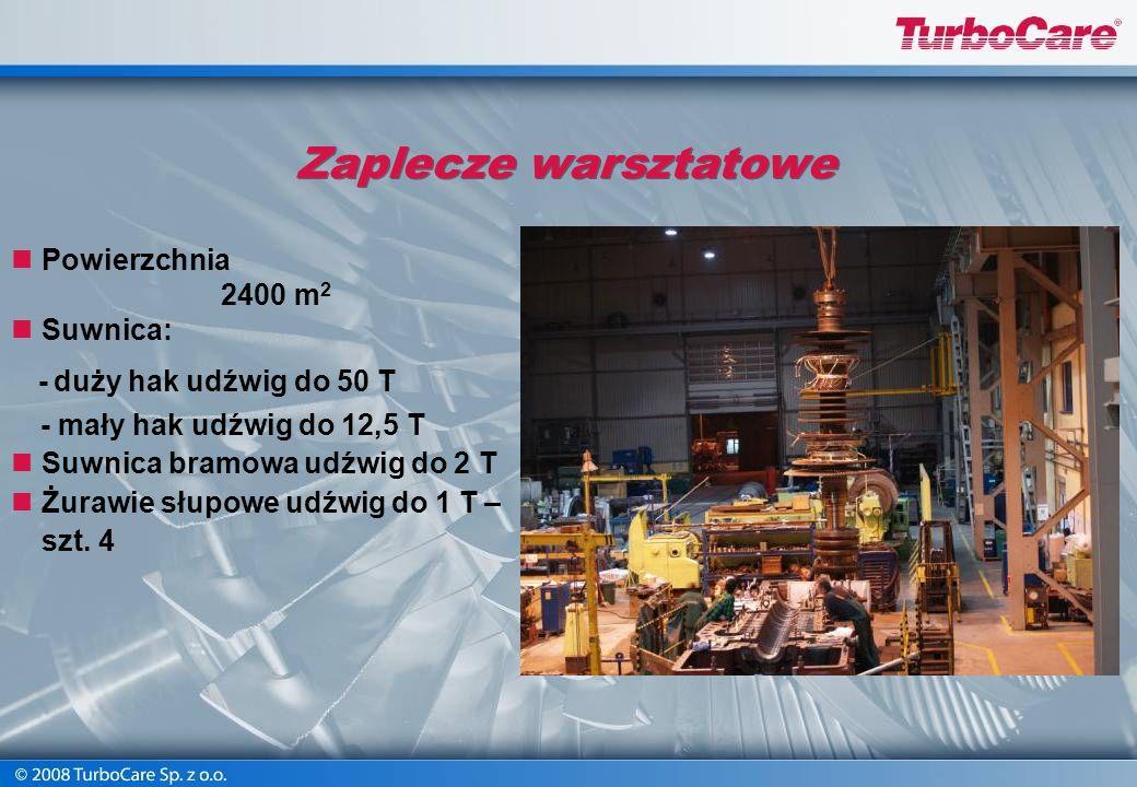 TurboCare Sp. z o.o. oferuje usługi w zakresie remontów turbin i urządzeń pomocniczych o małej i dużej mocy. Nasz nowoczesny warsztat o powierzchni uż