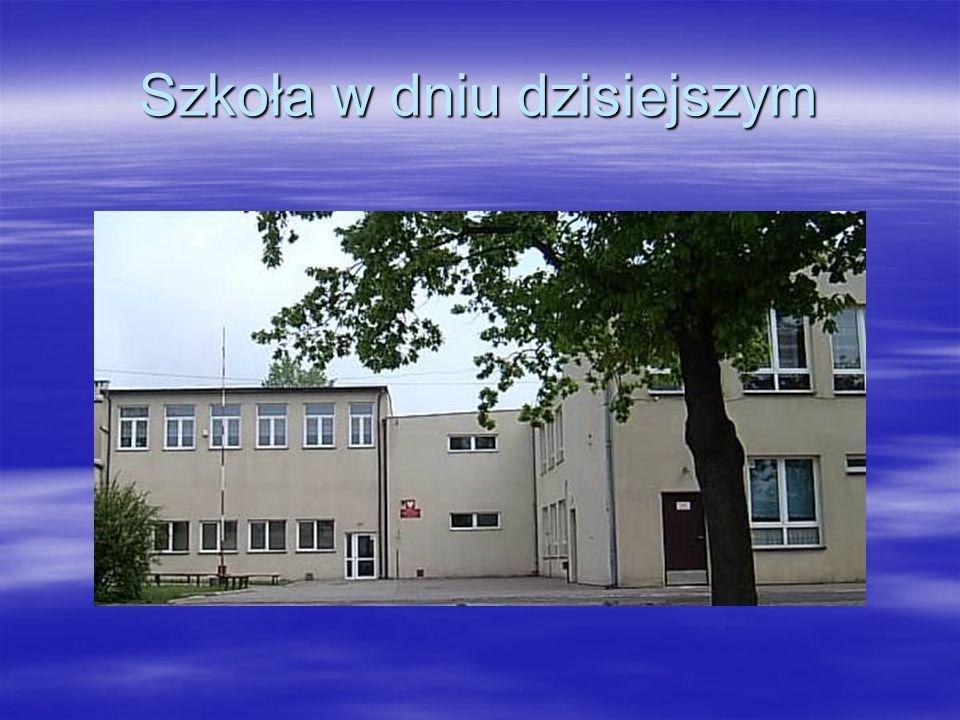 Szkoła w dniu dzisiejszym