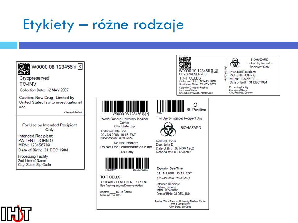 Etykieta ostateczna tkanek