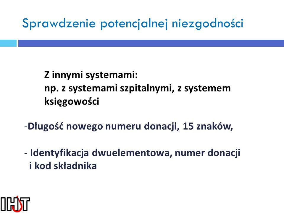 Powołanie komisji krajowej w celu ustalenia wspólnych standardów odnośnie kodowania 1.