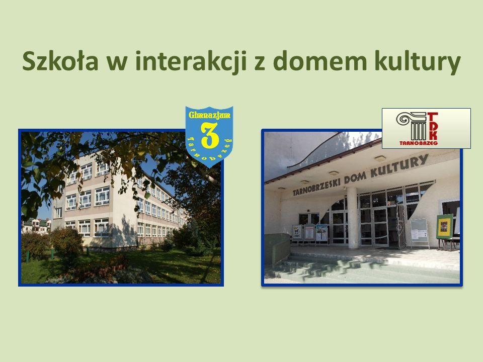 Szkoła w interakcji z domem kultury