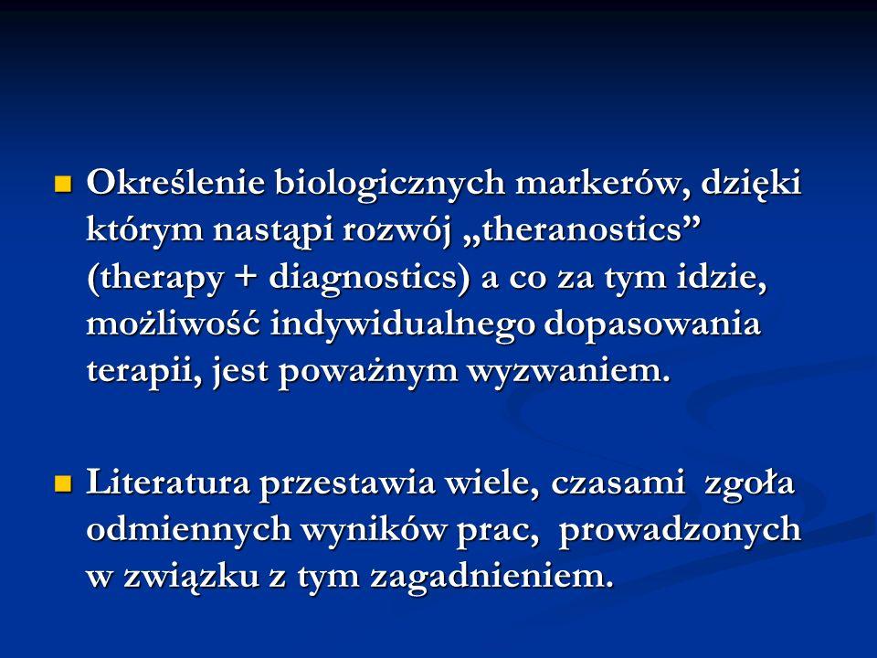 Kandydatury na potencjalne biomarkery IL-10 w skojarzeniu z danymi zawartymi w FIQ IL-10 w skojarzeniu z danymi zawartymi w FIQ Stężenie substancji P, szczególnie w płynie mózgowo-rdzeniowym Stężenie substancji P, szczególnie w płynie mózgowo-rdzeniowym Stężenie serotoniny, jednak raczej w relacji do substancji P (brak normy, wahania dobowe) Stężenie serotoniny, jednak raczej w relacji do substancji P (brak normy, wahania dobowe)