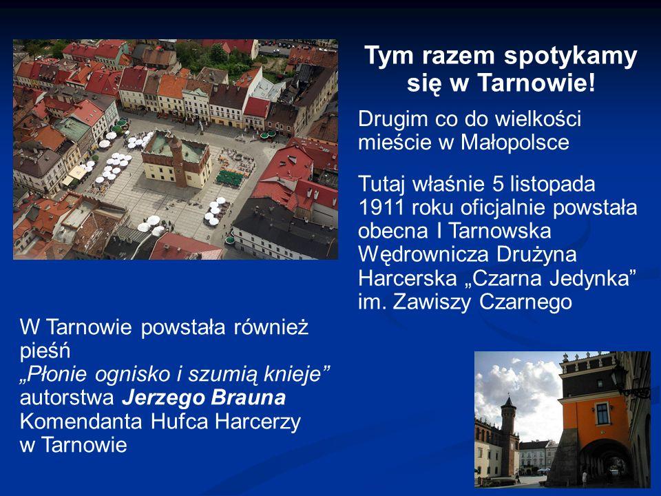 Tym razem spotykamy się w Tarnowie.