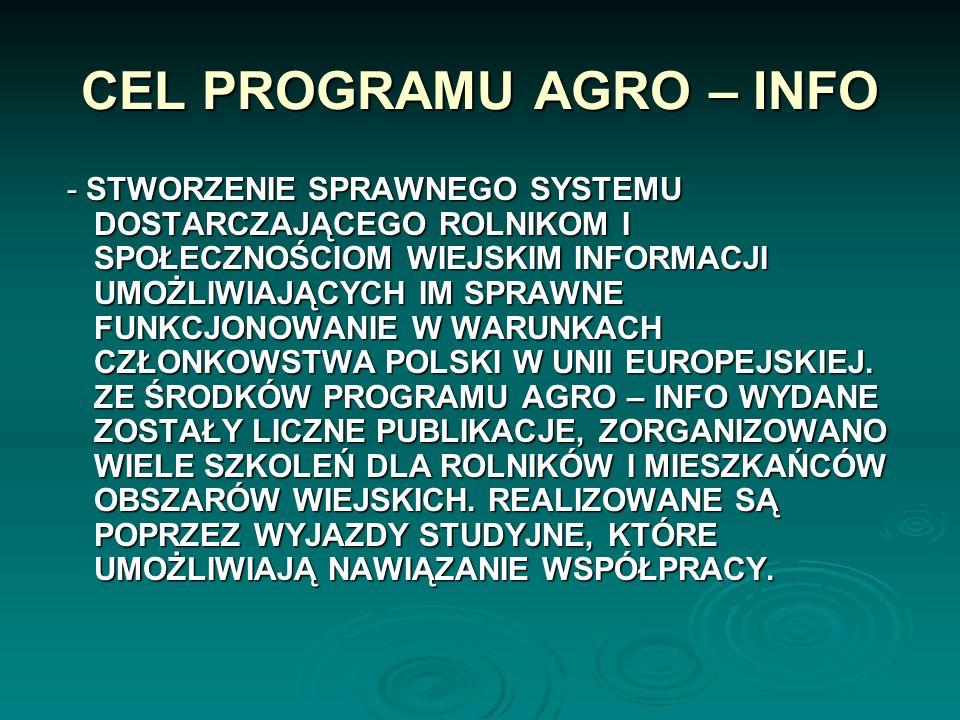 PUNKTY INFORMACJI PUNKT INFORMACJI EUROPEJSKIEJ AGRO - INFO LEGNICA PUNKT INFORMACJI EUROPEJSKIEJ AGRO - INFO LEGNICA ORGANIZACJA: ORGANIZACJA: DOLNOŚ