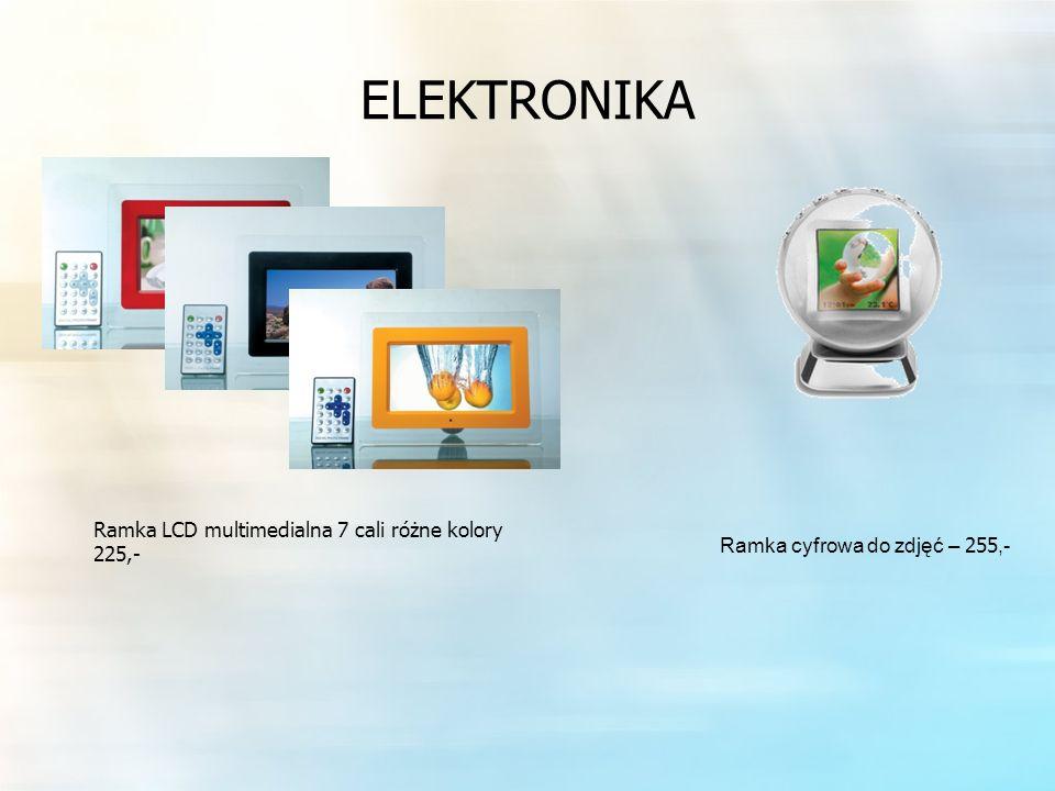 ELEKTRONIKA Ramka LCD multimedialna 7 cali różne kolory 225,- Ramka cyfrowa do zdjęć – 255,-