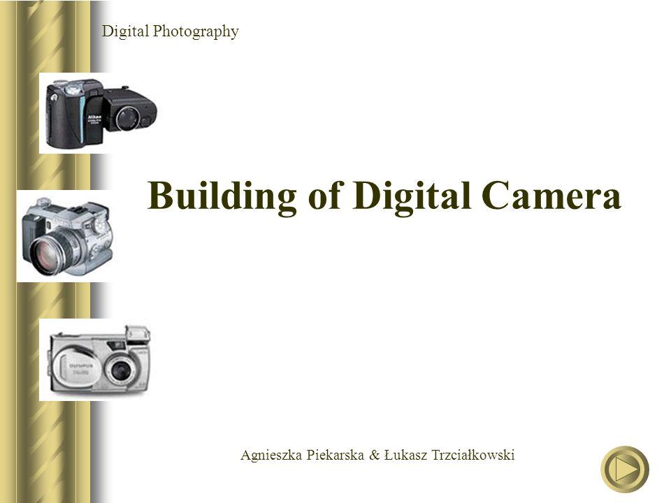 Agnieszka Piekarska & Łukasz Trzciałkowski Digital Photography Building of Digital Camera