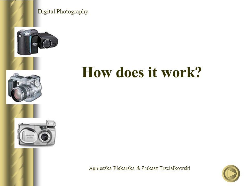 Agnieszka Piekarska & Łukasz Trzciałkowski Digital Photography How does it work