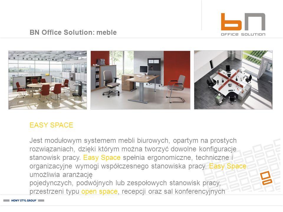 Jest modułowym systemem mebli biurowych, opartym na prostych rozwiązaniach, dzięki którym można tworzyć dowolne konfiguracje stanowisk pracy. Easy Spa
