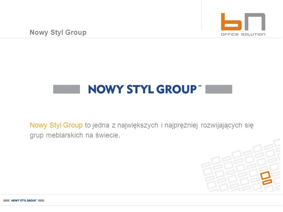BN Office Solution BN Office Solution stale współpracuje z europejską czołówką projektantów.