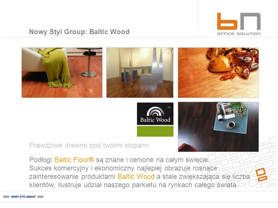 Podłogi Baltic Floor® są znane i cenione na całym świecie. Sukces komercyjny i ekonomiczny najlepiej obrazuje rosnące zainteresowanie produktami Balti