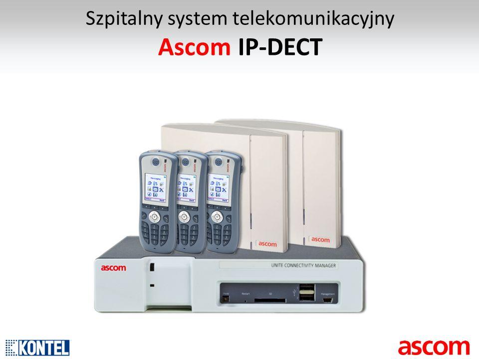 Szpitalny system telekomunikacyjny Ascom IP-DECT