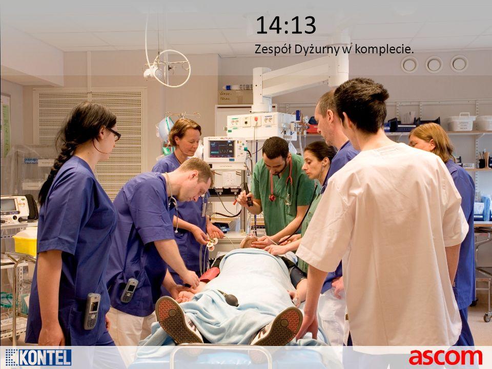 14:13 Zespół Dyżurny w komplecie.