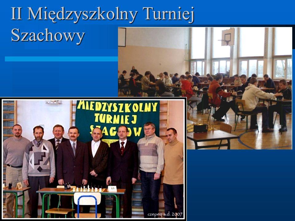 II Międzyszkolny Turniej Szachowy