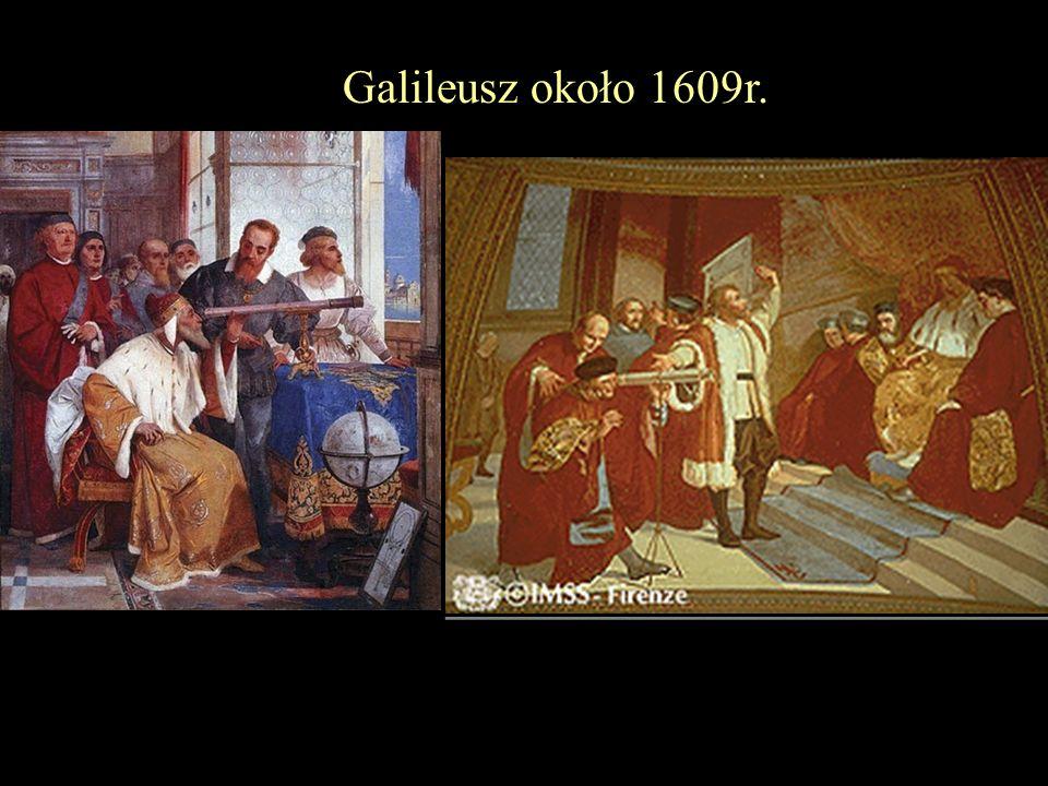 Galileusz około 1609r.