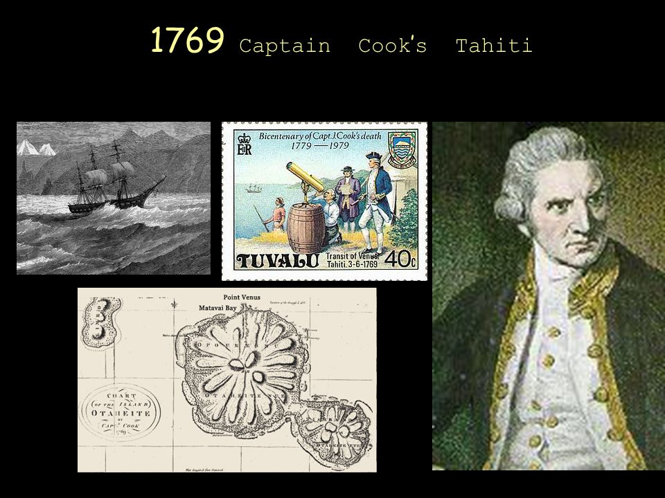 1769 Captain Cook s Tahiti
