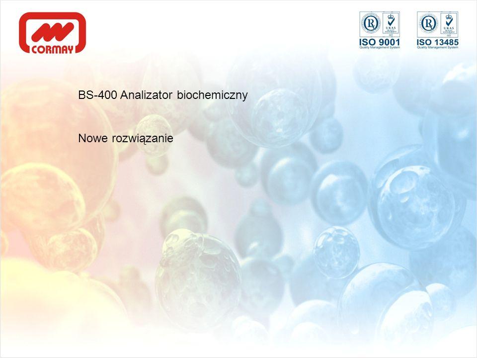 BS-400 Analizator biochemiczny Nowe rozwiązanie