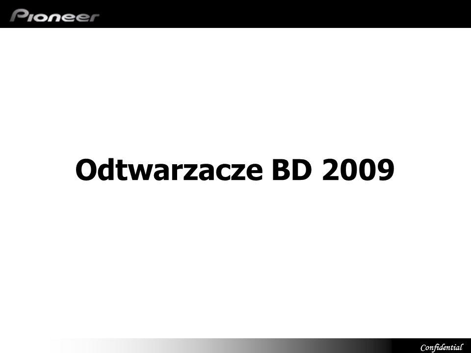 Confidential Blu-ray FY09FY10 BDP-LX91 BDP-LX71 BDP-LX52 BDP-320 BDP-51FD kontynuacja BD Live Deep color (48-bit) PQLS Multi (wielokanałowy) RS232C Aluminiowy panel przedni BD Live Deep color (48-bit) PQLS 2ch Audio Nowość BDP-120 BD Live Deep color (36-bit) Szybki start Nowość