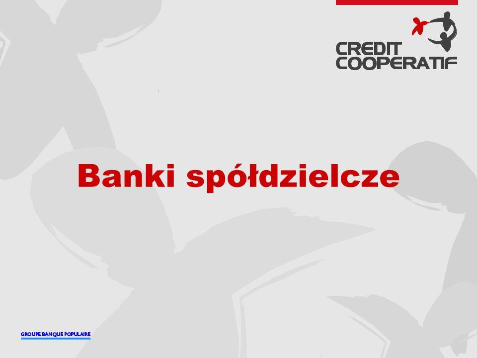 2 Grupy zrzeszające banki spółdzielcze we Francji